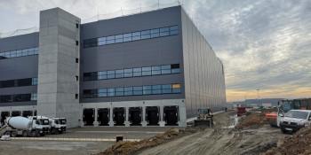 Bautenstand Logistikhalle in Sachsenheim